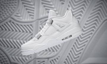 試問誰可 潔白無比 Air Jordan 4 Pure Money