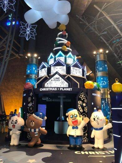 Line Friends Christmas Planet 又見喇!!