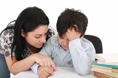 Mother-Helping-With-Homework-by-David-Castillo-Dominici