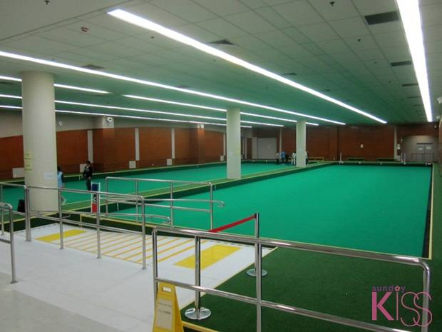 Indoor Bowling Green