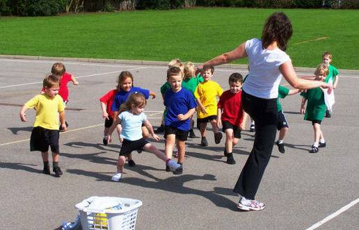 first-pe-lesson
