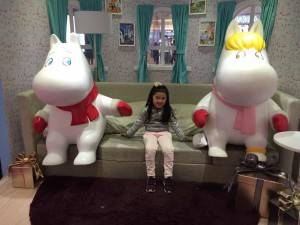 Moomin father & mother