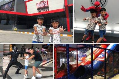 【泰國親子遊】曼谷 全新The Marvel Experience Thailand