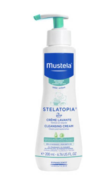 Mustela® Stelatopia® Cleansing Cream by Expanscience Laboratoires