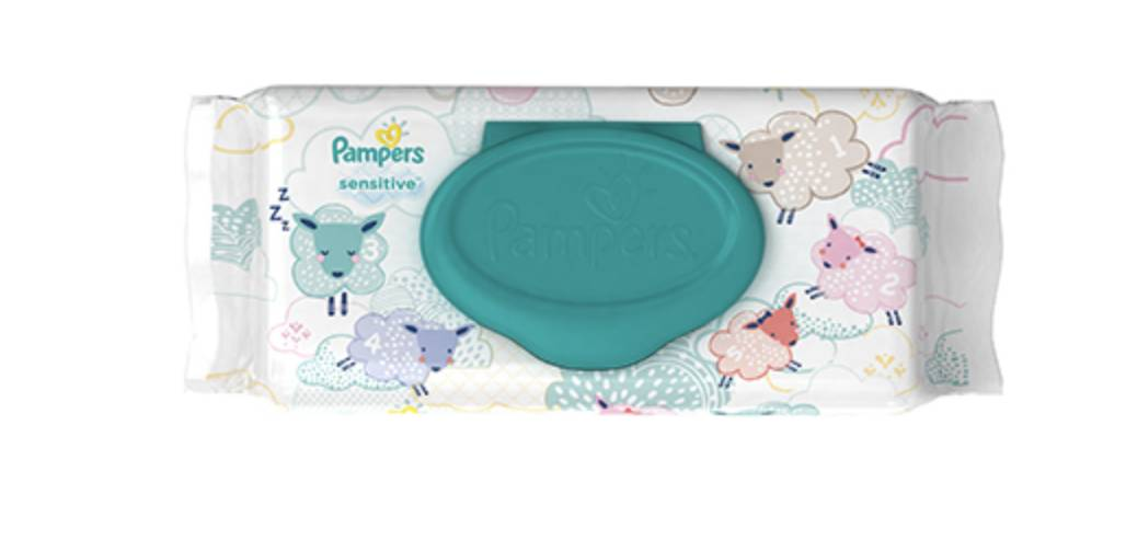 Pampers® Sensitive Wipes by Proctor & Gamble