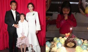 林文龍郭可盈10歲女兒初長成 遺傳父母優良基因  獲獎學金成模範生