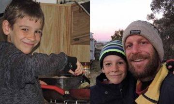單親爸陪自閉症兒子遊歷澳洲 寧棄高薪厚職 盡現父愛