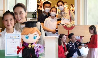 郭可盈與林文龍管教有法 11歲女奪學科冠軍名校畢業 品學兼優遺傳父母優良基因