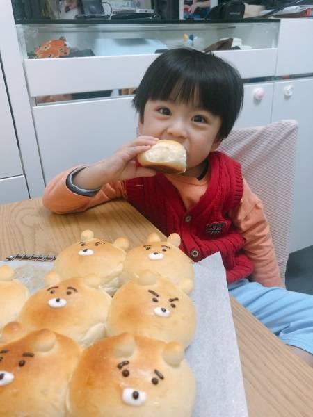 可愛小熊手撕牛奶包食譜