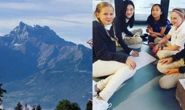 13歲李嫣埋怨「功課好多」 李亞鵬送囡讀瑞士貴族學校 每月學費港幣90萬