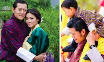 不丹4歲王子現君王風範 遺傳父母最強機因 小王儲即將做哥哥