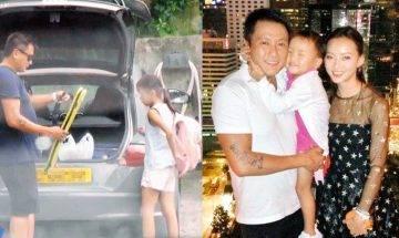 52歲魏駿傑與嫩妻正處理離婚  日後不再娶 做單親爸爸照顧9歲囡囡