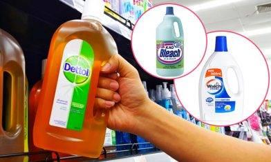 【武漢肺炎】18款清潔用品對抗冠狀病毒 新加坡國家環境局認證 抗疫特集
