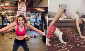 4款居家親子運動 與爸媽做瑜伽、跳舞 增進關係練手腳協調