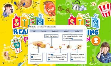 【停課不停學】小學1至6年級英文STEM教材 教育出版社推介|網上工作紙+答案 在家自學做練習
