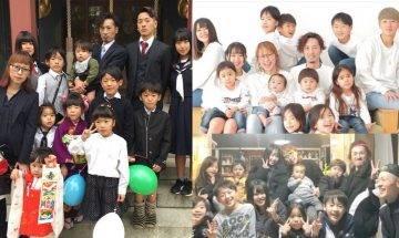 日本媽媽連生12子 靠仔女照顧弟妹