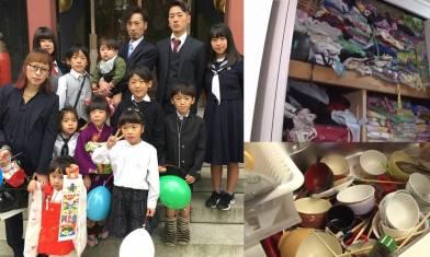 大家庭生活揭秘!日本媽媽連生13個高顏值孩子 忙足21小時靠長子長女湊弟妹