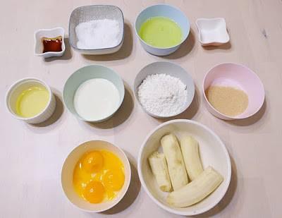 停課親子烘焙 香蕉蛋糕食譜分享