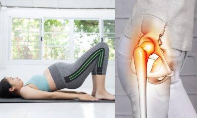 強化髖關節伸展運動示範 告別媽媽產後劇烈痛楚兼修身