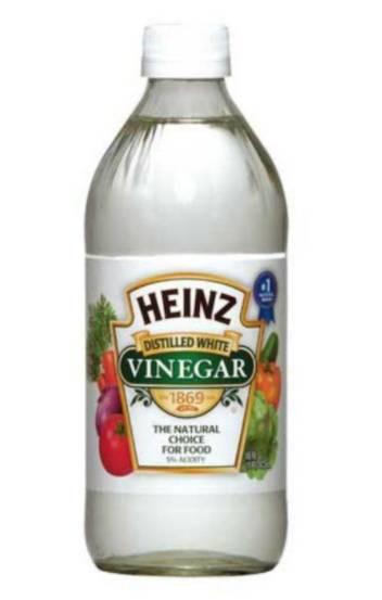 解決辦法:改為用兩匙白醋去霉味 (可選擇性加入牛奶清潔)