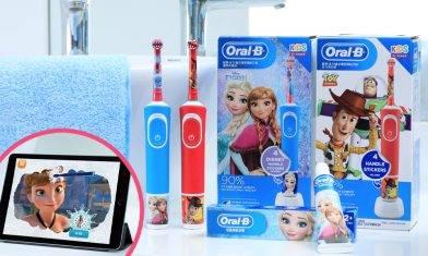 小朋友大愛Oral-B迪士尼系列電動牙刷!遊戲互動APP令小朋友愛上刷牙兼升自理能力