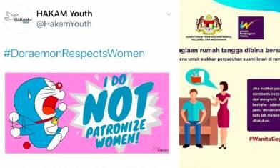 馬來西亞籲婦女居家工作要化妝   太太要學多啦A夢向夫撒嬌