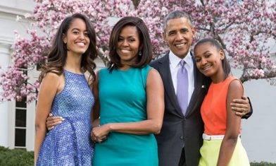 前美國總統奧巴馬 分享教女心得  全靠從小為女兒訂下9條家規