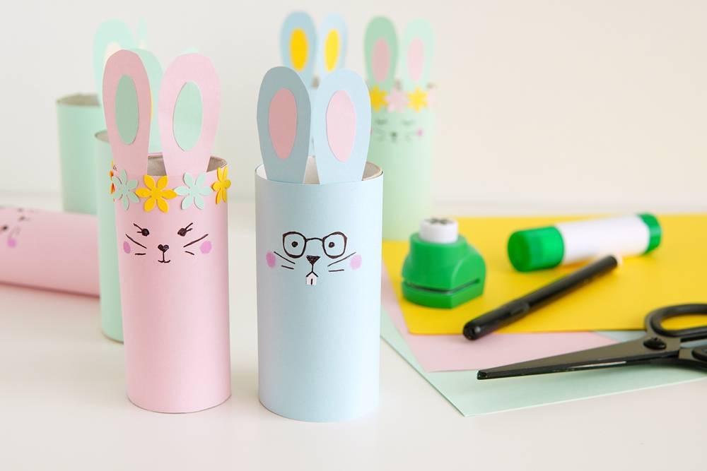 8個復活兔圖工勞作 復活節親子活動DIY設計卡通兔子+影片分享