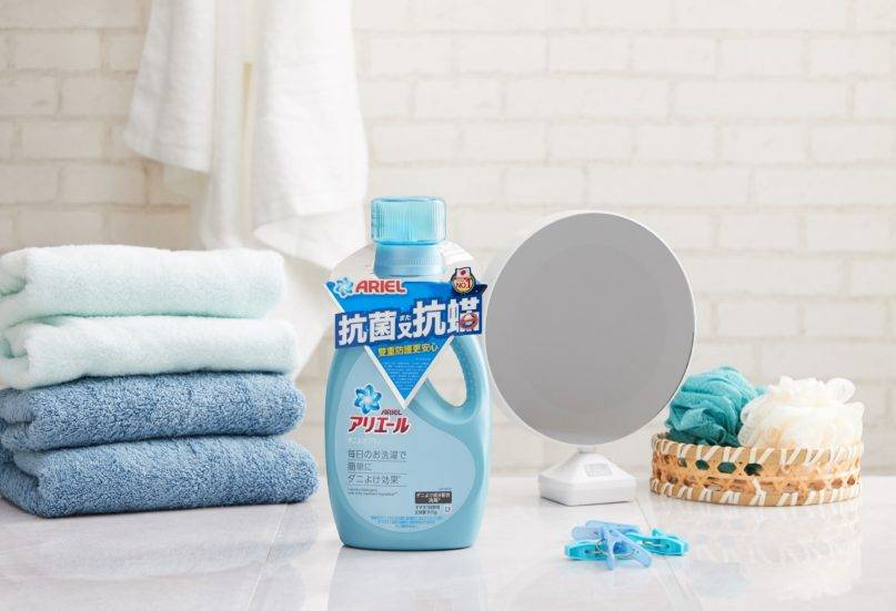 Ariel嘅抗菌抗蟎洗衣液,可以一次過清潔+除蟎,好安心!