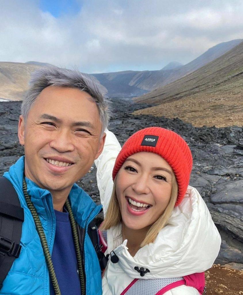 梁芷珮於冰島邊玩邊賺錢(圖片來源:梁芷珮Instagram圖片)