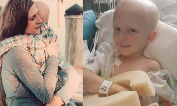 4歲末期癌症兒子臨終躺浴室守候  媽媽難忍哀痛上載對比照+最後對話