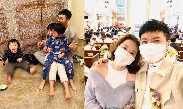 42歲高皓正與太太恩愛10年 退居幕後照顧家庭 將妻小放第一位