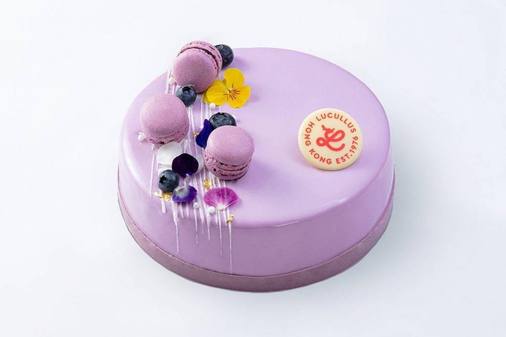 紫花蜜語 - 紅桑子士多啤梨慕絲蛋糕 8