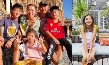 梁芷珮:不要因為TVB而抹煞我的工作機會 三孩之母全家出動拍旅遊節目