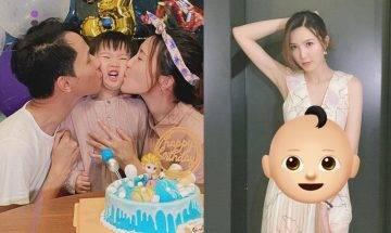 28歲吳若希肚凸傳陀B仔3個月 吳媽媽貼身照顧