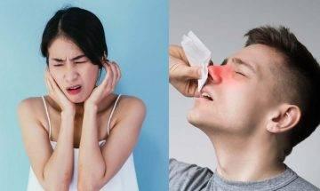 鼻咽癌vs嚴重鼻敏感要識分  病發初期鼻涕帶血或耳鳴