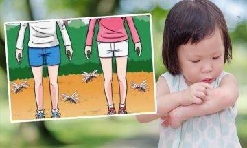 日本養蚊少年分享1招防蚊 |身體多細菌 蚊叮次數多3倍
