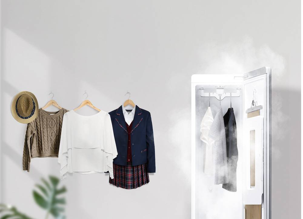 集多功能於一身!LG Styler衣物護理機一機搞掂衣物除塵、消毒、殺菌、去異味