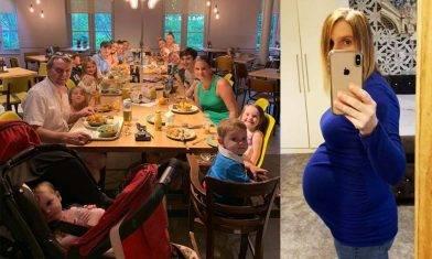 44歲超級媽媽30年間勁生22名孩子 與18歲女兒同時懷孕 4度成為外婆