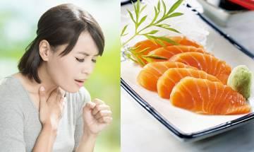25歲女子食魚生致口咽感染 喉嚨鑷出長3.8cm寄生蟲