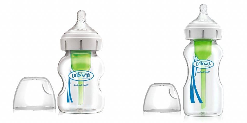 Dr. Brown's 防脹氣奶樽分為5oz及9oz兩個容量,可按BB需要選擇。