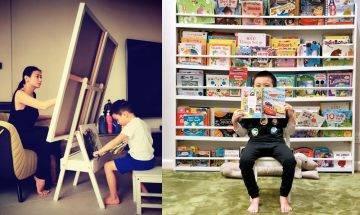 39歲黃依汶為囝囝打造豪華playhouse  巨宅曝光樓梯闊落到有埋滑梯