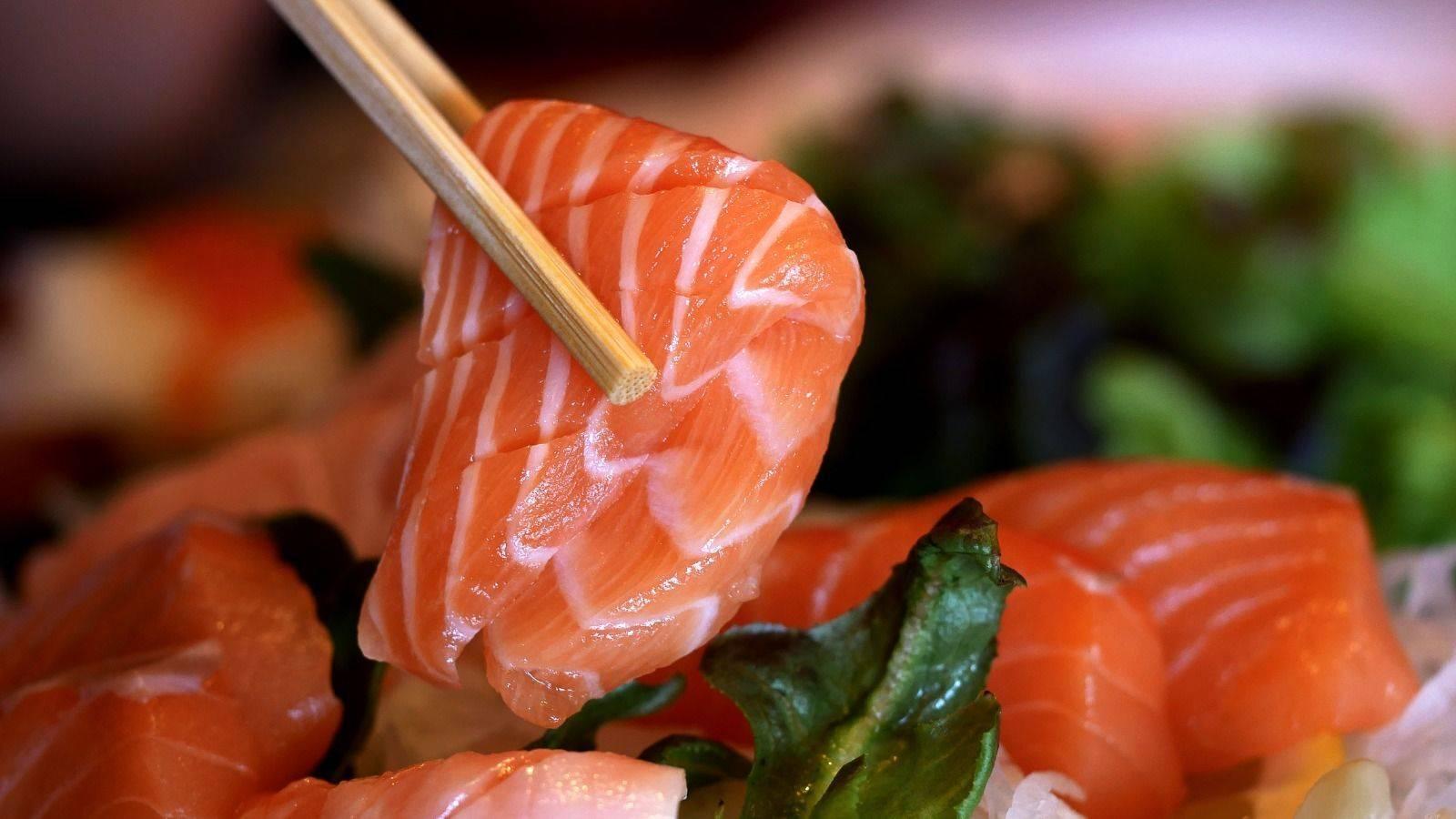 魚生,寄生蟲,三文魚,袁國勇,食物中毒,海獸胃線蟲