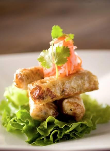 於米芝蓮推介Le Soleil越南餐廳享用三道菜二人晚餐