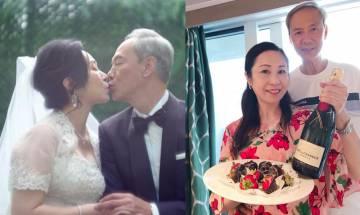 60歲吳香倫患惡疾 陳榮峻:繼續一起向前行