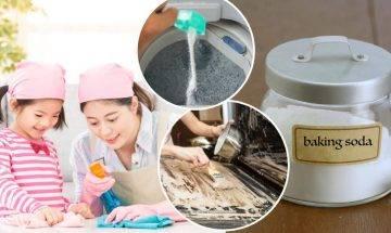 梳打粉清潔7大好處-製作天然清潔劑、曱甴藥 加白醋有最強去漬作用