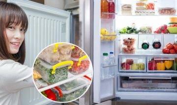 雪櫃收納法 日本媽媽教你5招雪櫃收納術 儲存1星期餸菜無難度 食物更襟擺保鮮