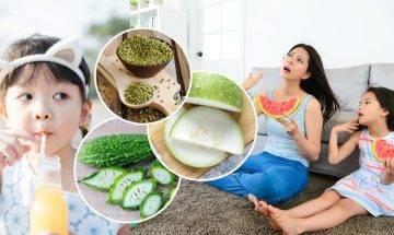 清熱去濕湯水2大推介 改善大汗、口渴、發熱問題 中醫教分辨4種實熱情況