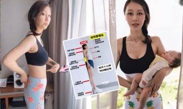 站立瘦身 網紅推介企住瘦方法 每日10分鐘收肚腩+改善駝背