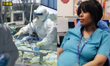 懷孕30週護士感染新冠肺炎 腦部缺氧4分鐘致產後失記憶